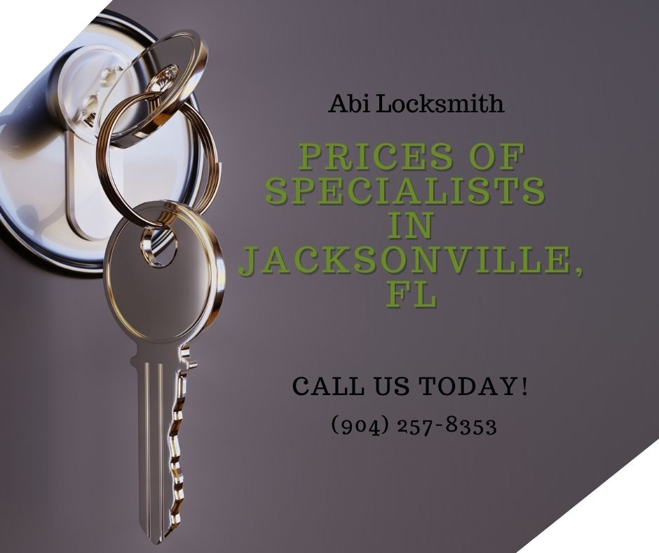 Prices of Specialists in Jacksonville, FL