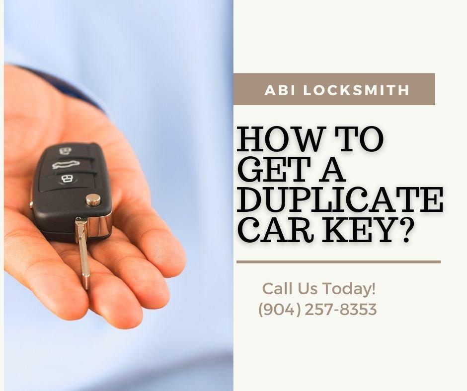 How to Get a Duplicate Car Key?